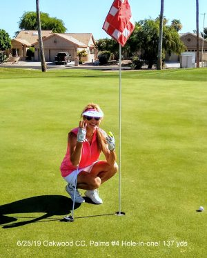 3rd hole in one- Palms #4